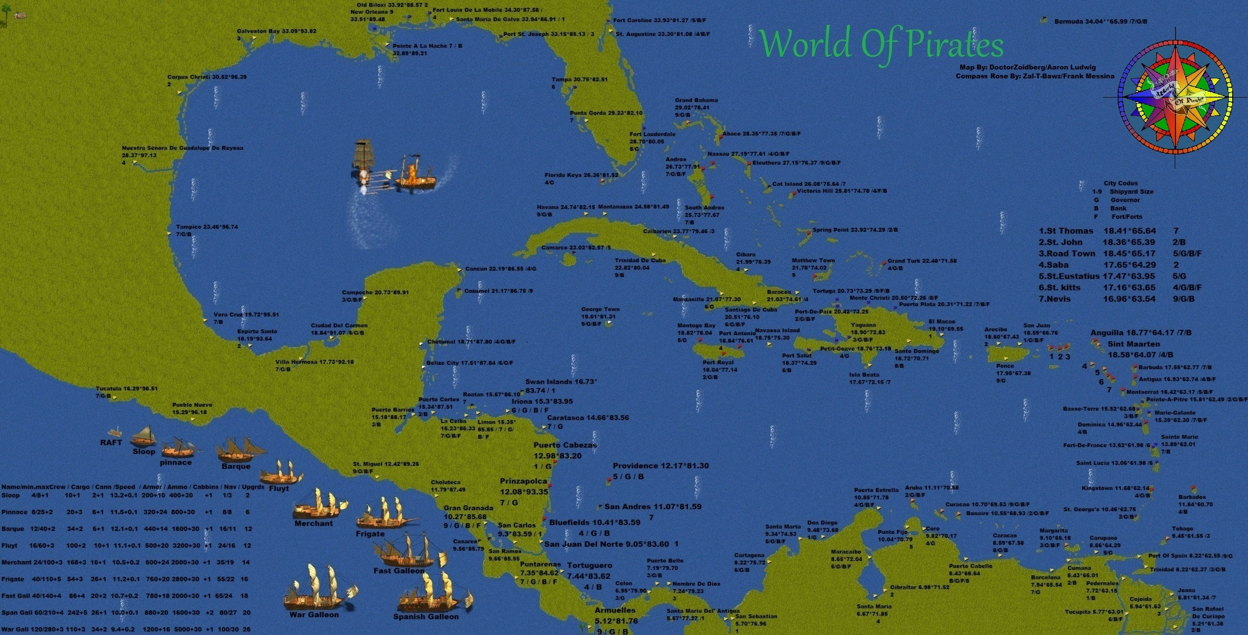 Pirate World Map.World Of Pirates Map